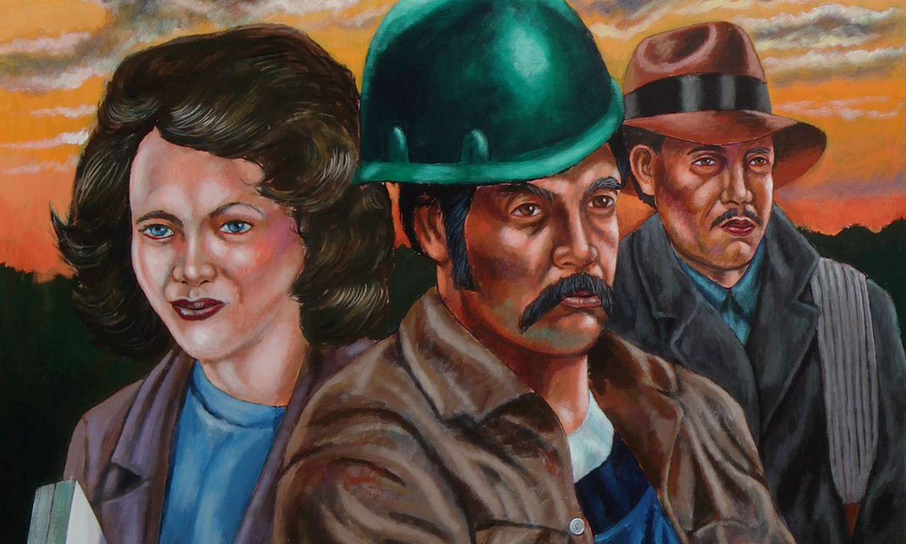 Seeing Double: Emigdio Vasquez' Paintings at the Bowers