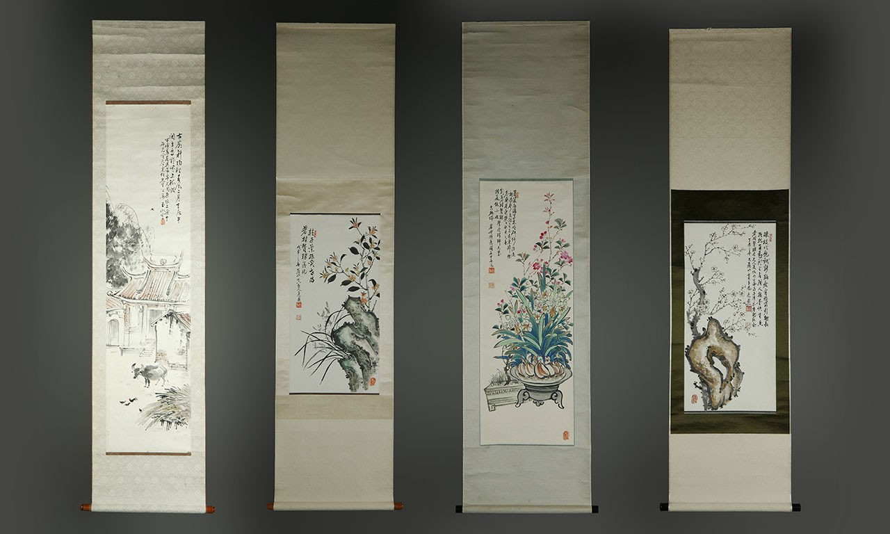 Song Swan Song: Three Taiwanese Scroll Painters