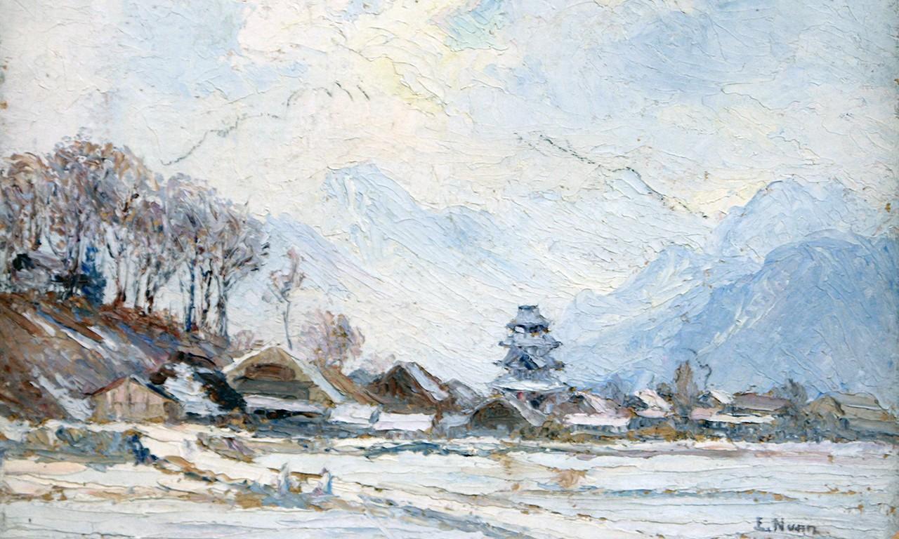 Takes One to Snow One: Evylena Nunn Miller's Oils of Japan in Winter
