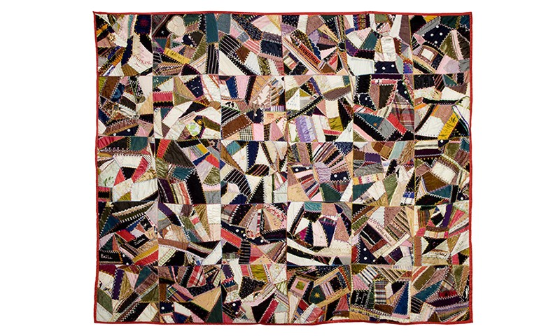 Shards of Fabric: Crazy Quilts of the Bowers Museum