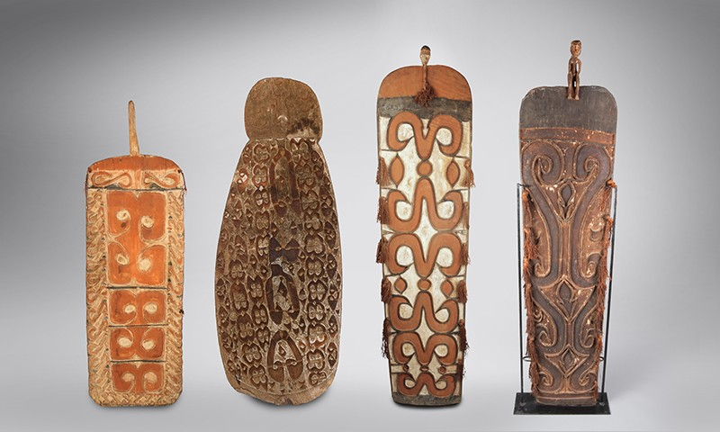 Progenitor Protection: Wooden Shields of the Asmat