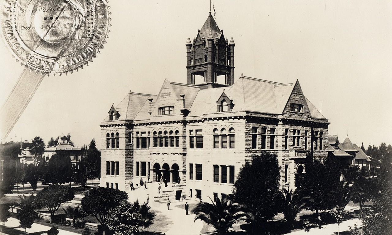 Legally Fond: The Old Orange County Courthouse