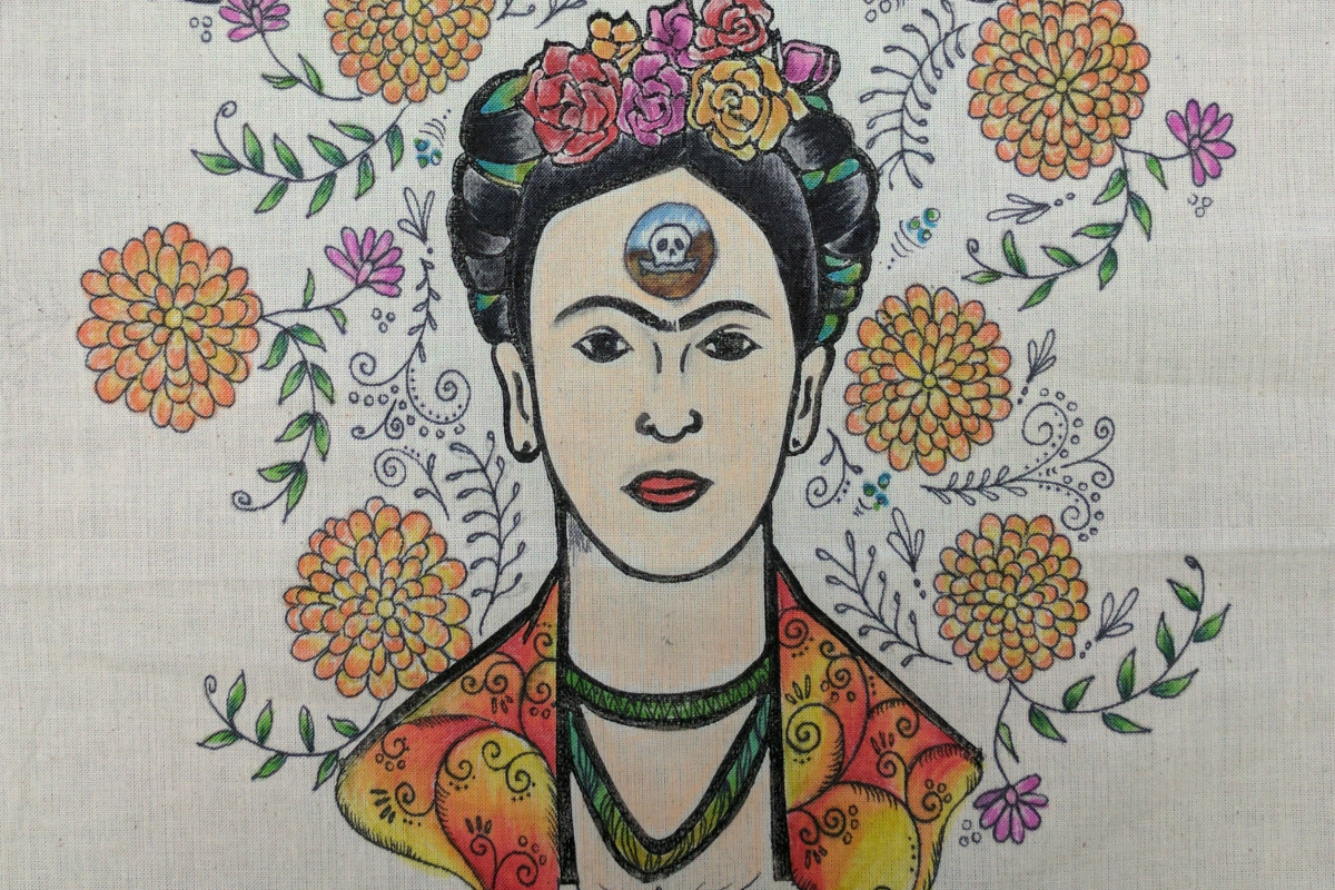 Anne's Treasures | Decorate Your Own Frida Tote Bag