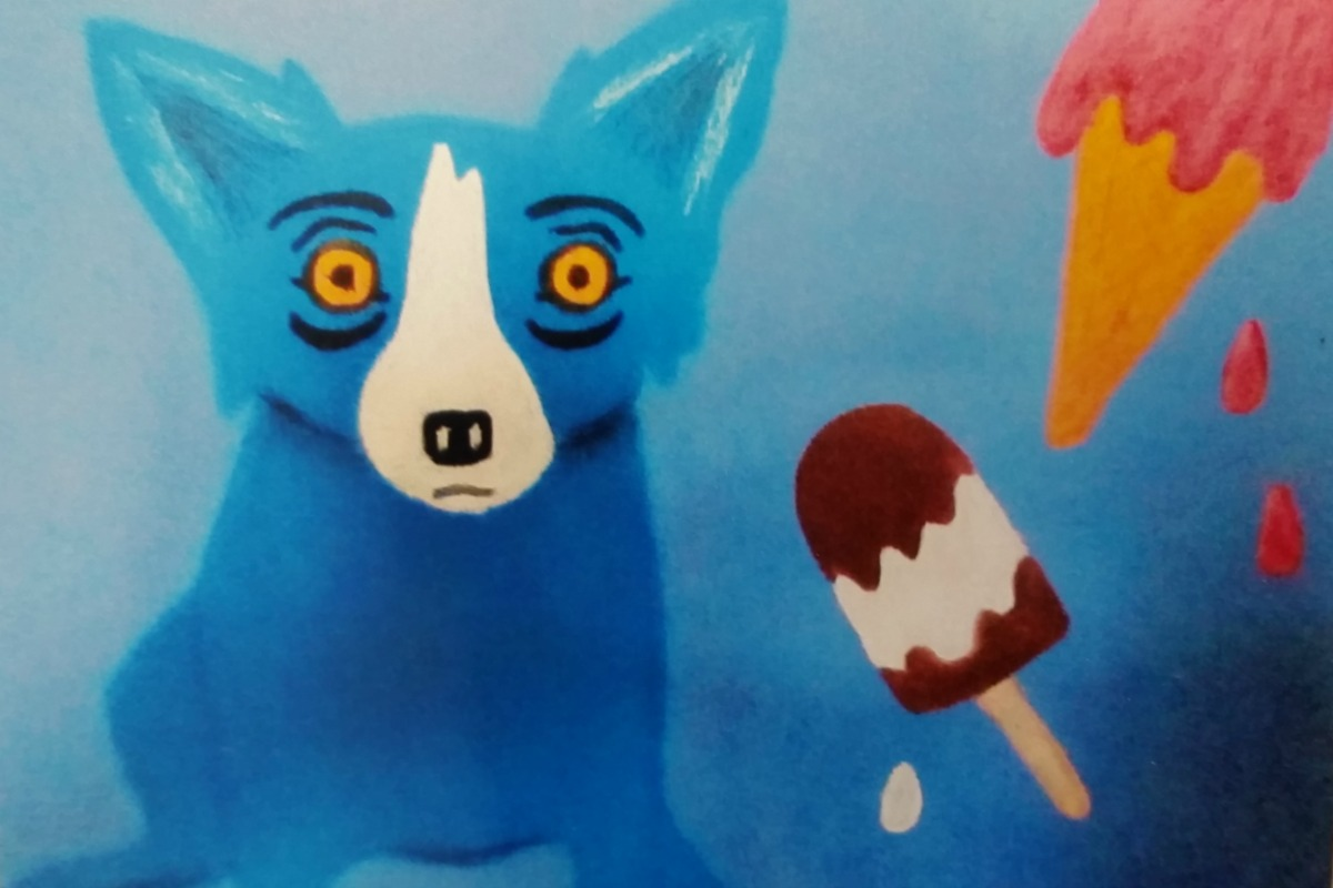 Anne's Treasures | George Rodrigue's Blue Dog