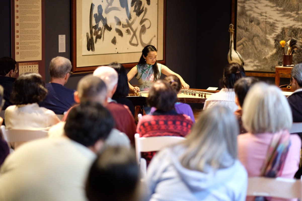 Guzheng in the Galleries