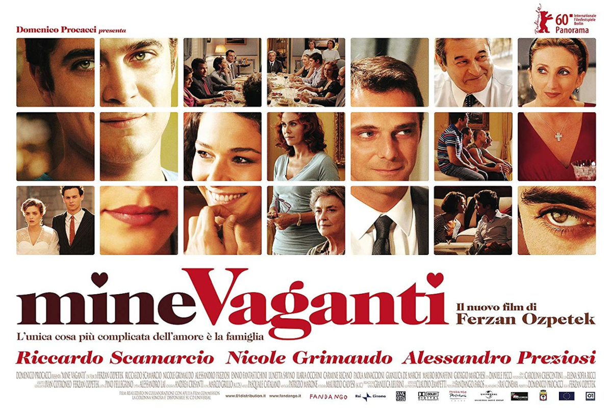 Cinema Italiano: Mine Vaganti – Loose Cannons (2010, 110 MIN)