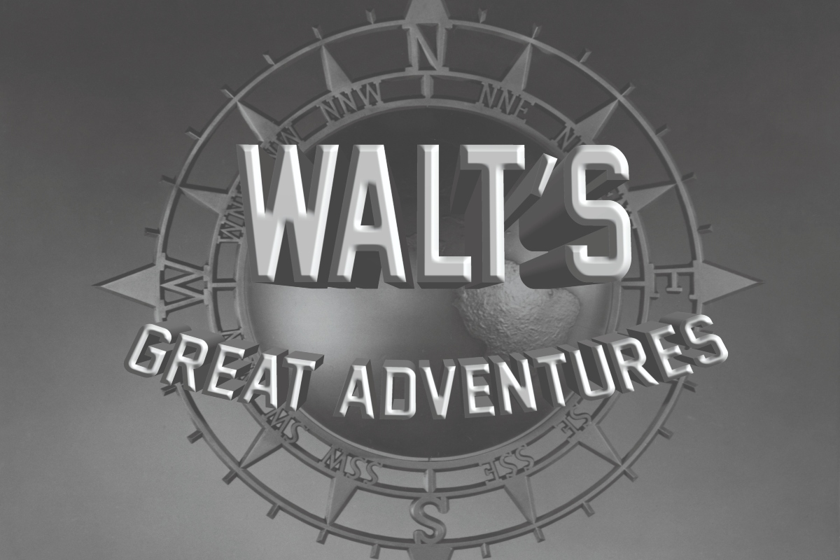ONLINE ENCORE: Walt's Great Adventures with Becky Cline